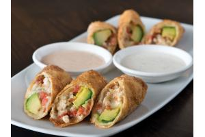 Avocado Club Egg Rolls