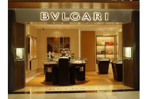 Bvlgari boutique