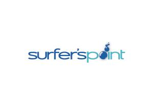 The Surfer's Point Logo