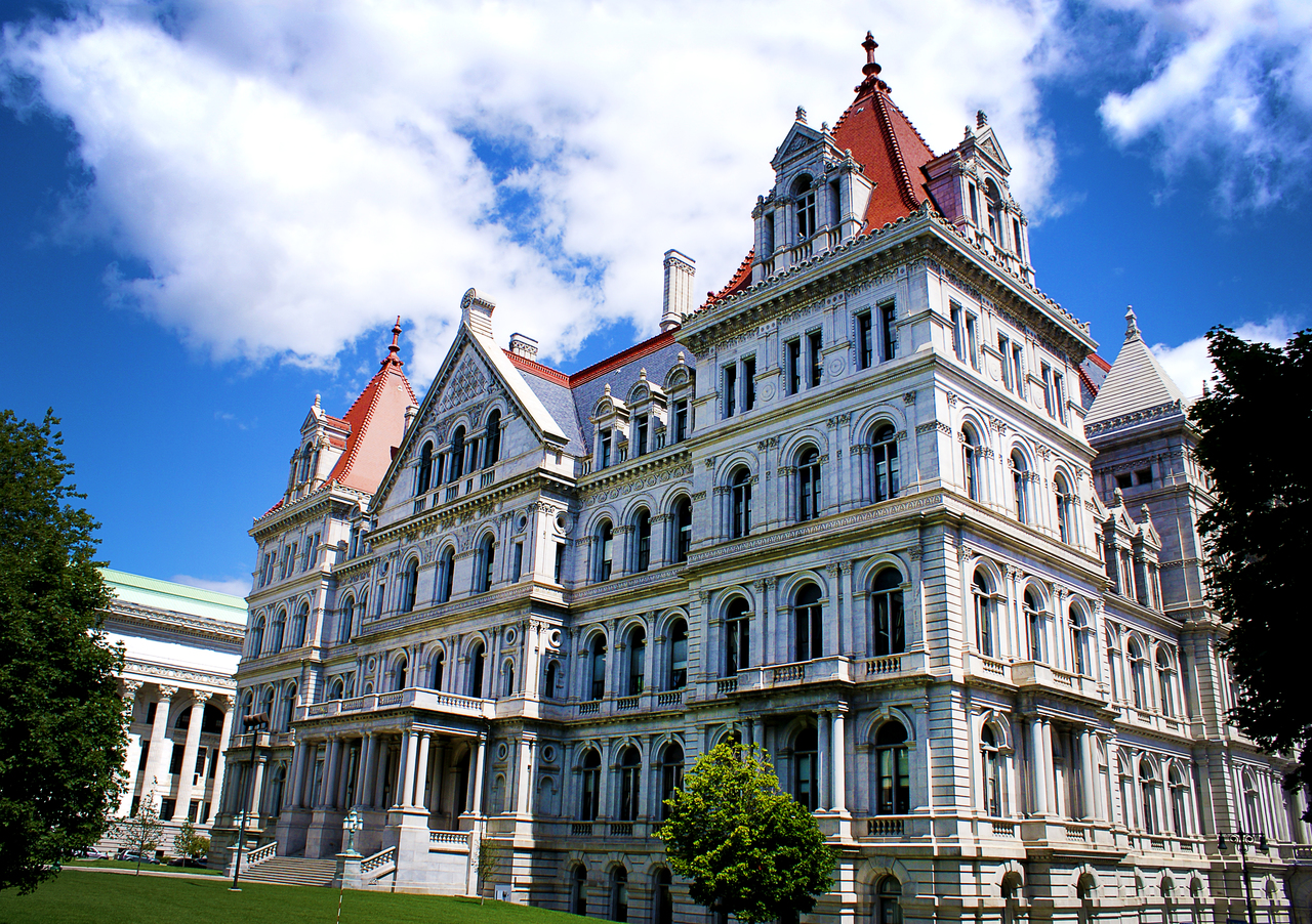New York State Capitol Building NY Building The Erie Canal Albany Institute