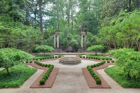 Boxwood Garden at Swan House