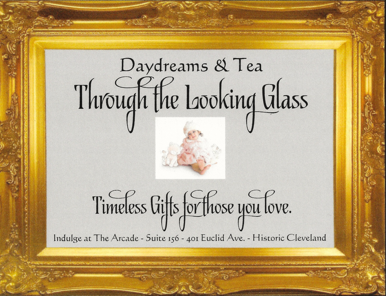 Daydreams & Tea Through the Looking Glass