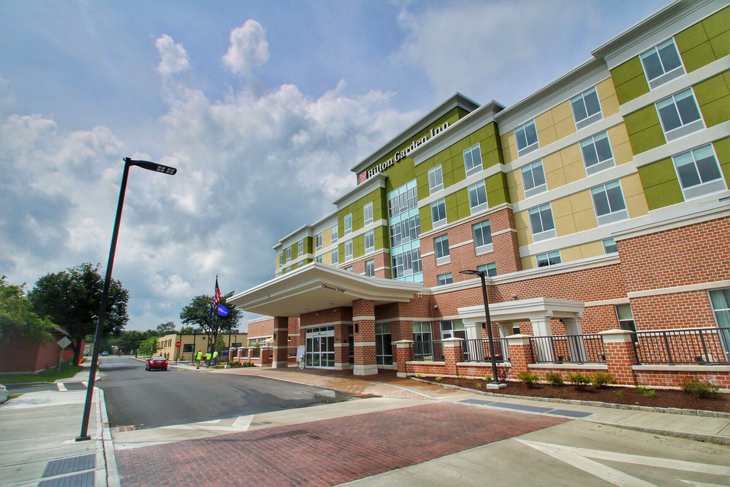 Hilton Garden Inn Corning Downtown_exterior