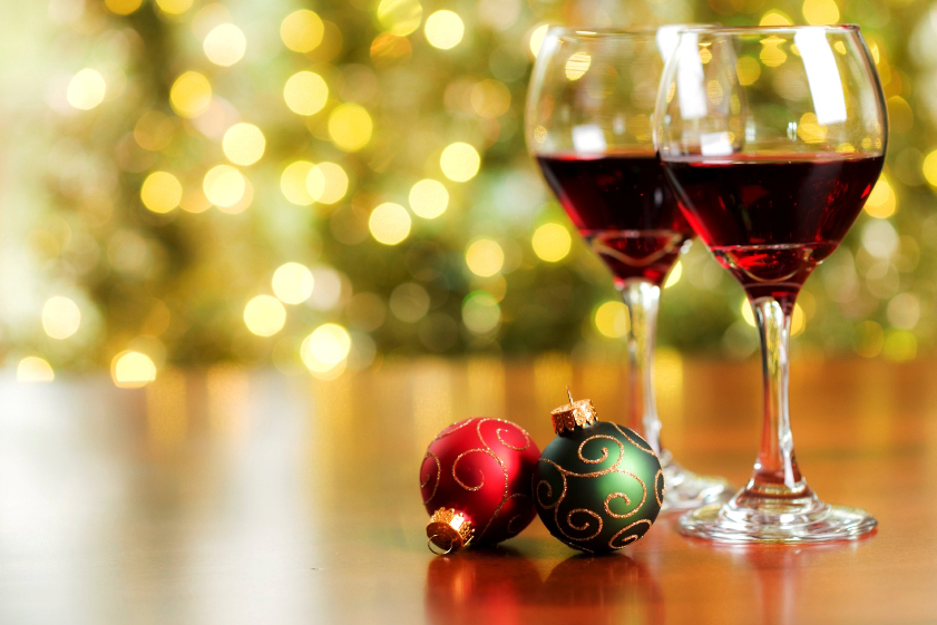 deck the halls weekend - Wine Christmas