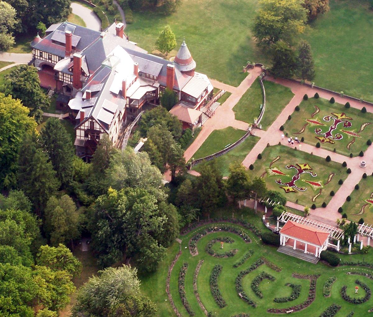 Sonnenberg Gardens Tour Best Finger Lakes Wedding Venues