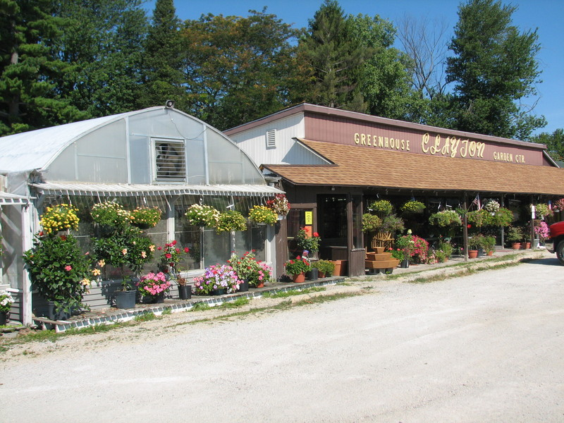 Clayton's Garden Center, North Webster