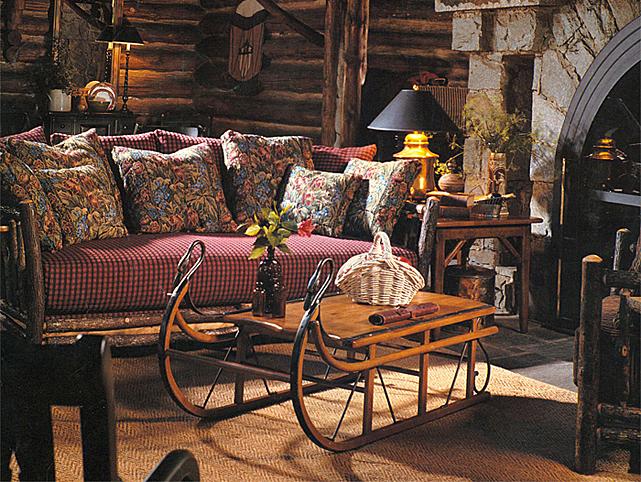 Lodge Furniture - Rustic lodge furniture
