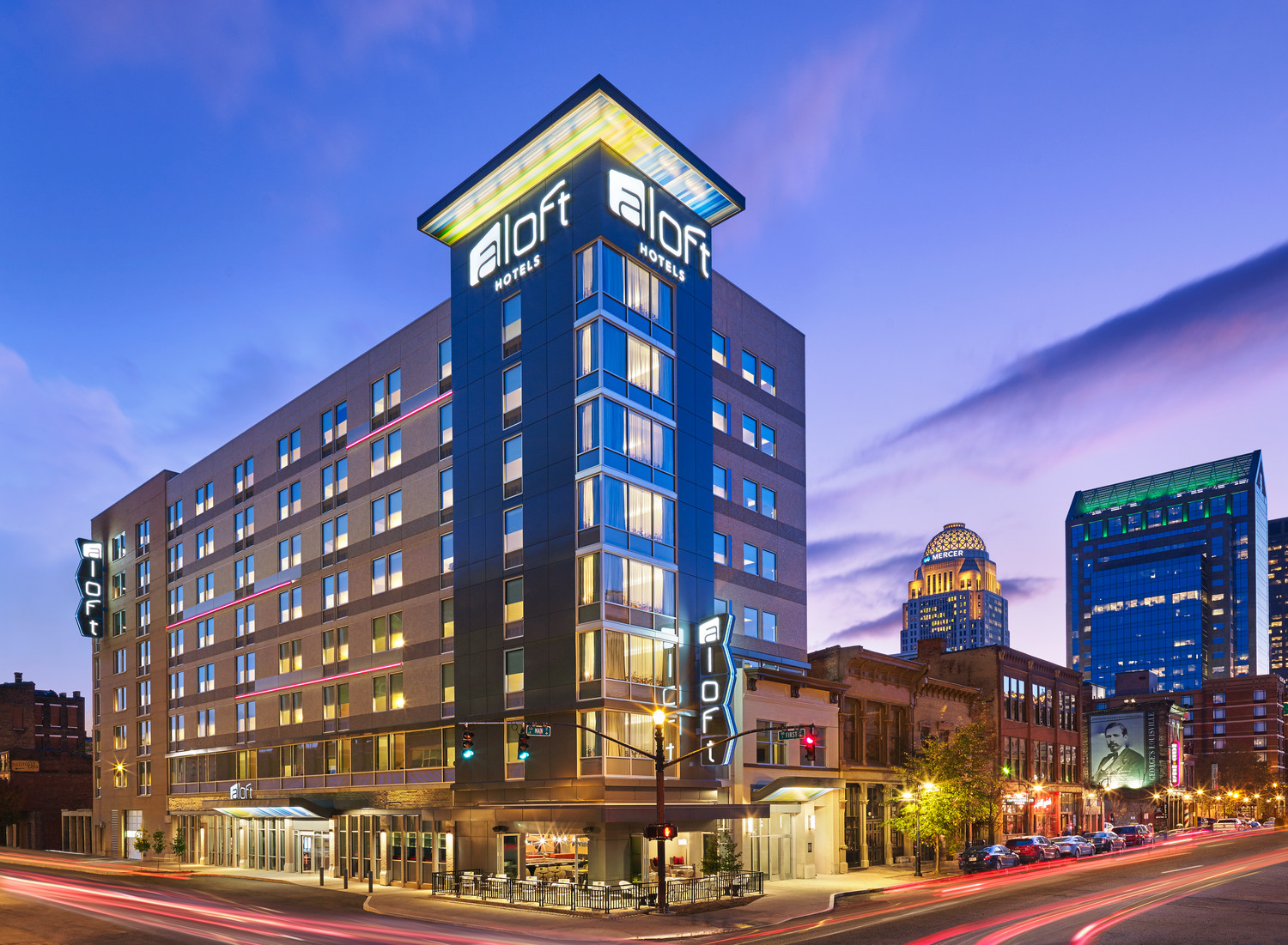 Aloft louisville downtown for Alf hotel downtown