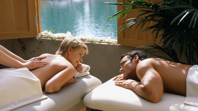 Cupid's Kiss Spa Package