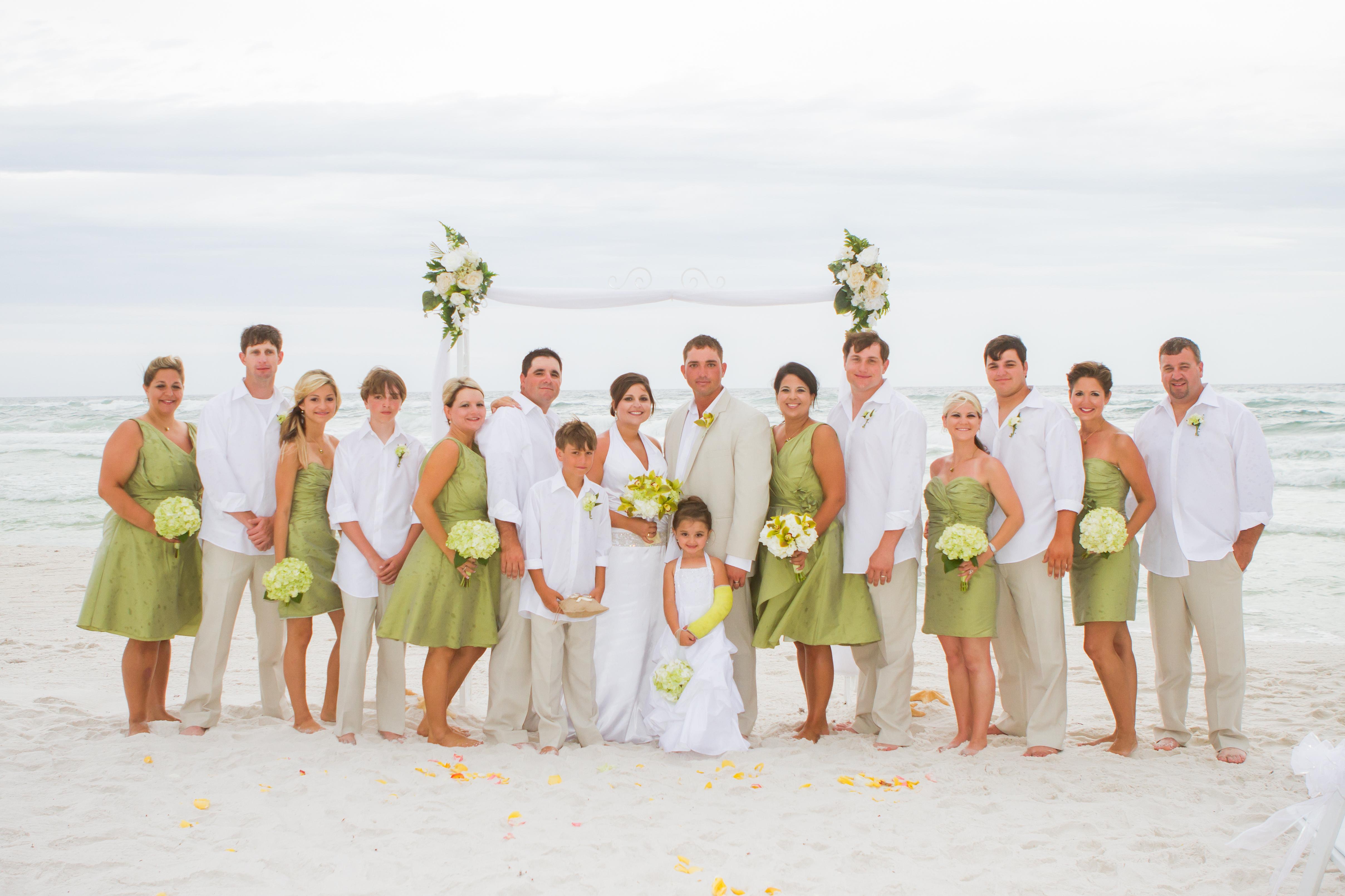 PANAMA CITY WEDDINGS BEACH FLORIDA
