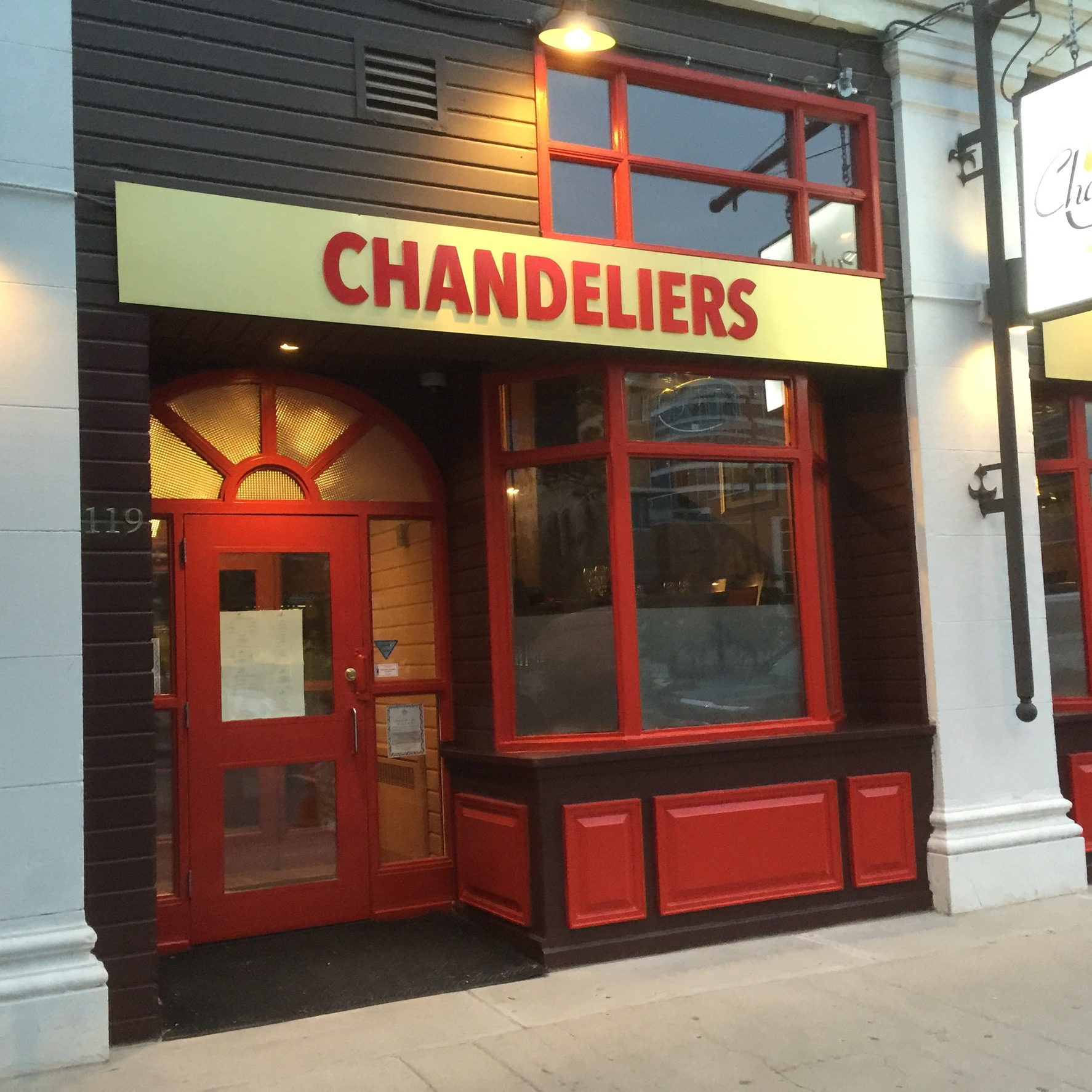 Chandelier restaurant saskatoon musethecollective chandeliers fine dining saskatoon sk s7k 0k1 arubaitofo Gallery