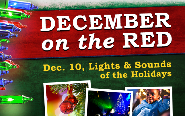 December on the Red: Lights & Sounds of the Holidays @ Riverview Park | Shreveport | Louisiana | United States
