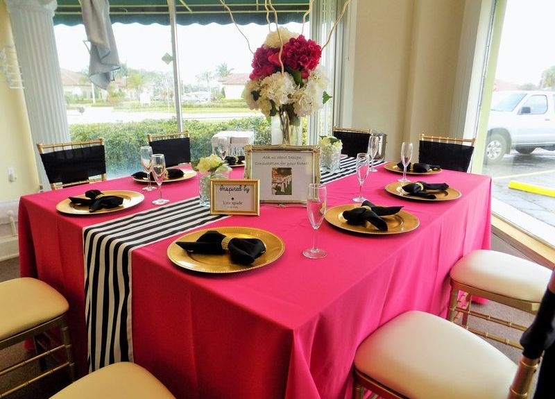 for affairs party rentals