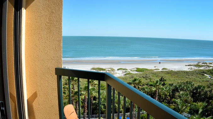 Doubletree By Hilton Cocoa Beach Oceanfront Balcony