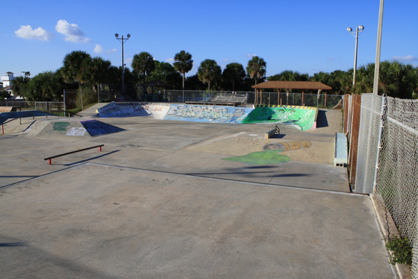 Florida Skateparks Map.Satellite Beach Skate Park