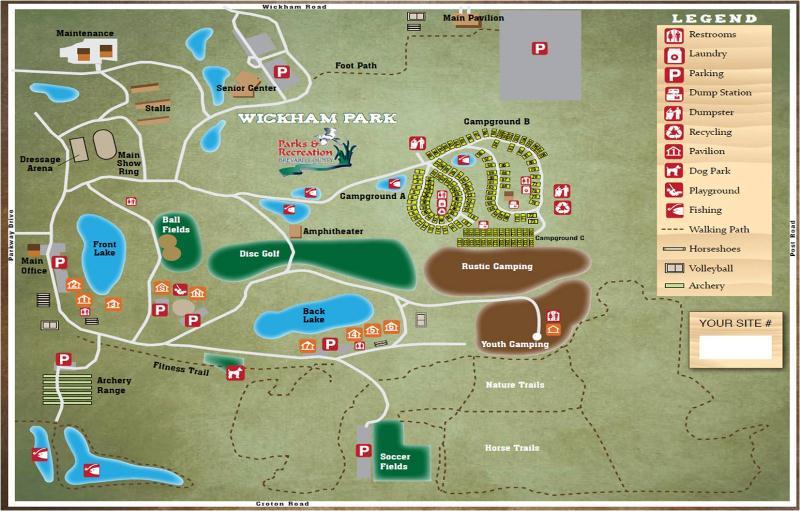 Wickham Park Campgrounds