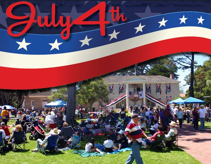 4th of July in Monterey
