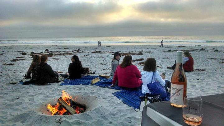 Beach Bonfire on Carmel Beach