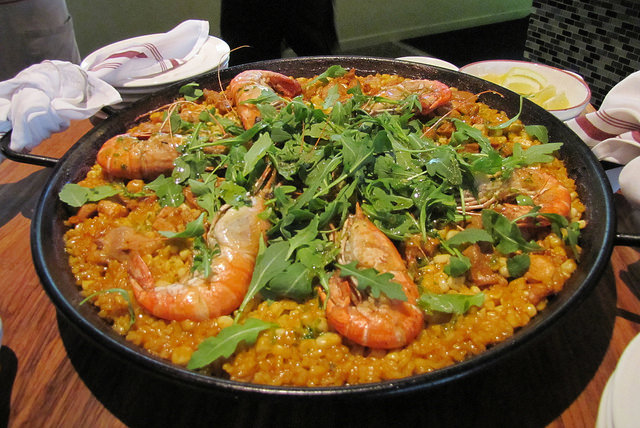 Paella at jeninni kitchen + wine bar