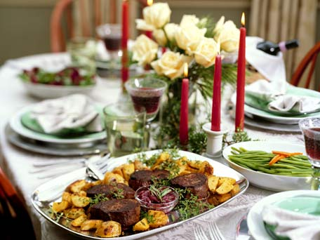 Best 2012 Christmas Dinners In Monterey County