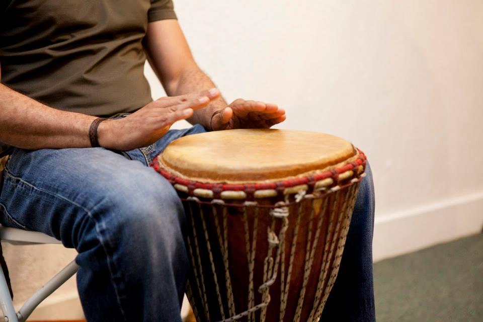 Drumming in Newark
