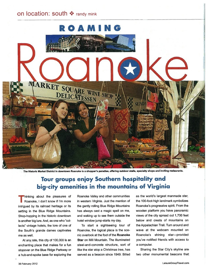 Roaming Roanoke Page 1