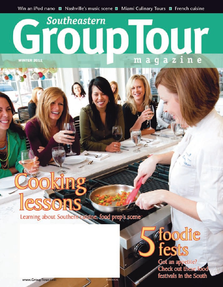 Group Tour Magazine Winter 2011 Cover