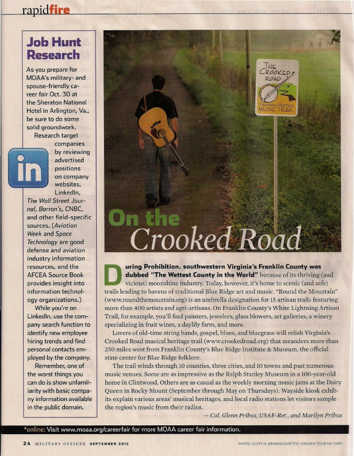 On the Crooked Road