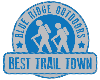 Roanoke Best Trail Town Logo