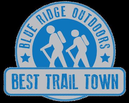 Roanoke Best Trail Town Logo