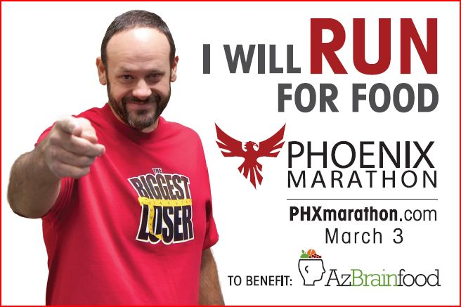 Phoenix Marathon on March 3rd