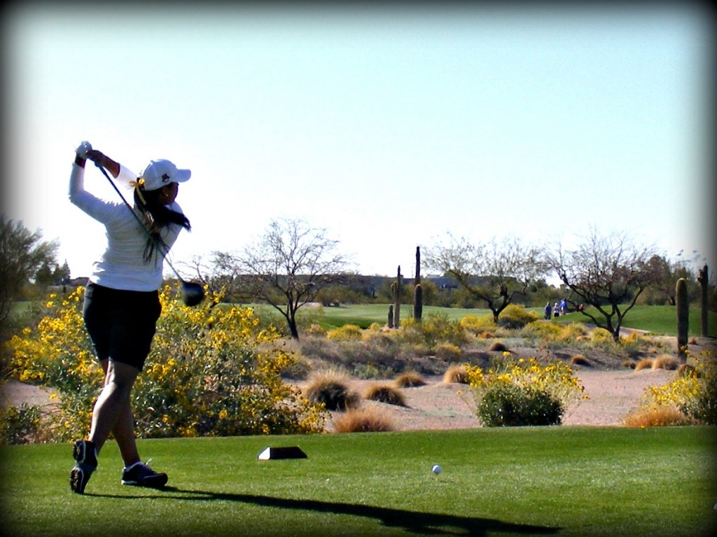 Women gathered in Mesa, AZ to compete for the 2012 Clover Cup, and event put on by Notre Dame