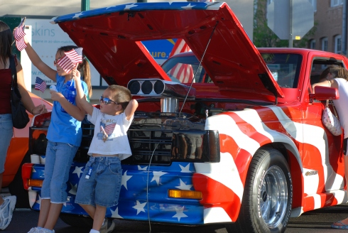 High Octane Car show in Downtown Mesa. June 29-30 during the Celebration of Freedom