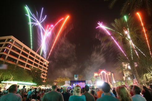 Mesa Arizona 4th of July celebration, 3rd annual celebration of freedom, fireworks in mesa, events downtown mesa, southwest ambulance event