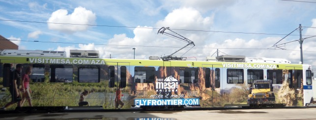 Denver train wrap