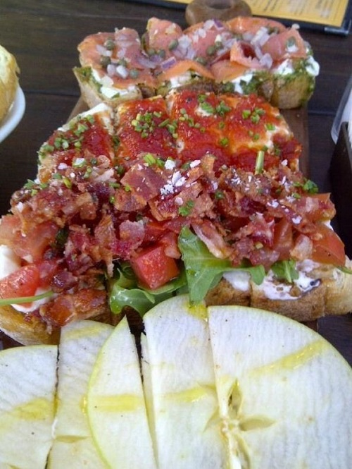 Bruschetta at Postino's