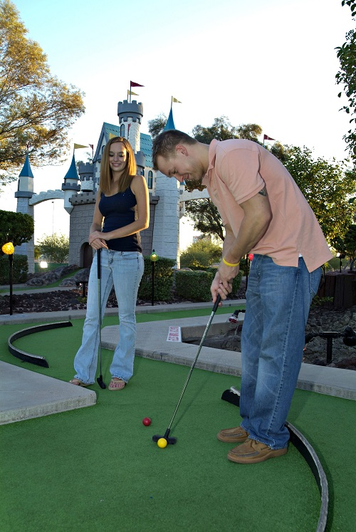 Miniature Golf at Golfland