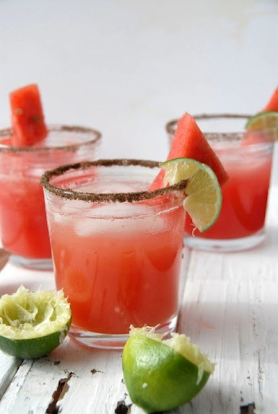 Smoky Watermelon Jalapeño Margarita