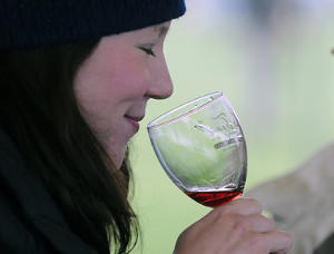 Sniffing Wine - Wineries