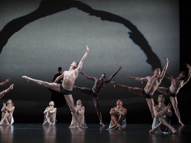 "Martha Graham Dance Company in Martha Graham's ""The Rite of Spring."" Photo and copyright by Sinru Ku"