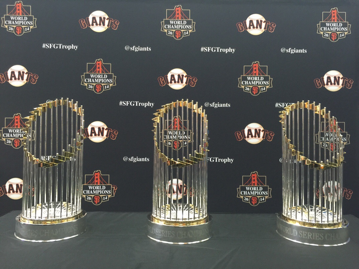 SF Giants Trophies
