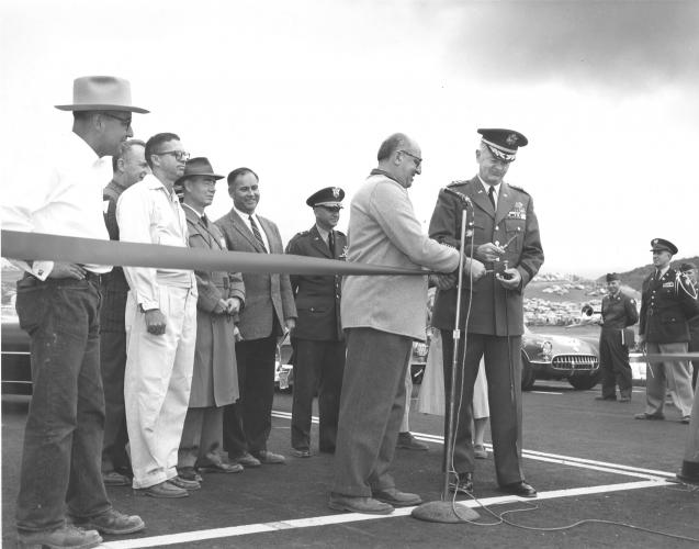 Racetrack Ribbon Cutting
