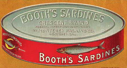 Booth's oval graphic from SardineKing.com