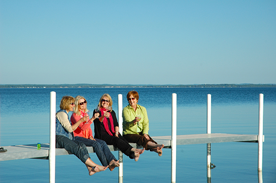 Traverse City is the perfect place for a girls getaway weekend