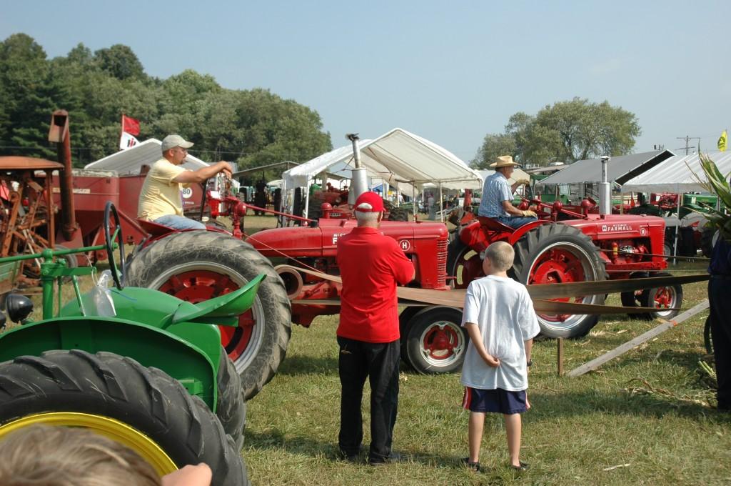 Farmall tractors!