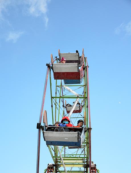 Ferris Wheel at the Traverse City Winter Comedy Arts Festival