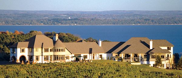Chateau Chantal, a winery and B&B on the Old Mission Peninsula