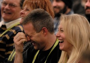 Laughing at the Winter Comedy Festival
