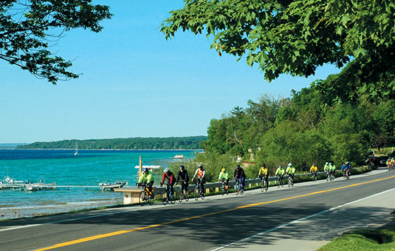 The Old Mission Peninsula hosts the annual Pumpkin Pedal on April 27!