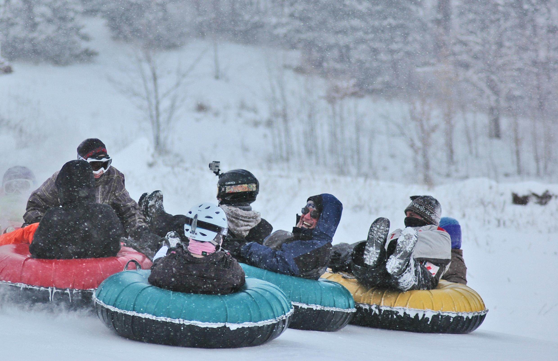 ziplines? snow tubing? more than just skiing at traverse city's ski